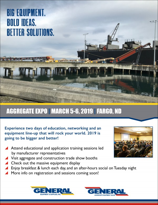 Aggregate Expo 2019 Save the Date Custom Email